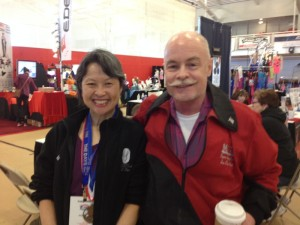 Ran into Mickey, a friend from my MIT days. How great is that!