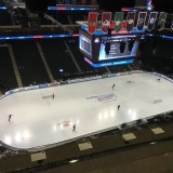 View from the press box