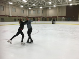 Ice dance for fun!
