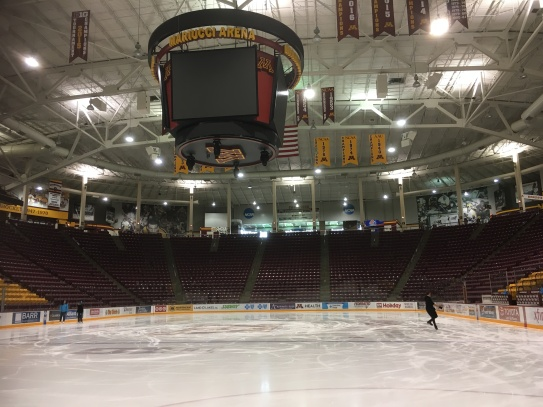 Our university ice rink