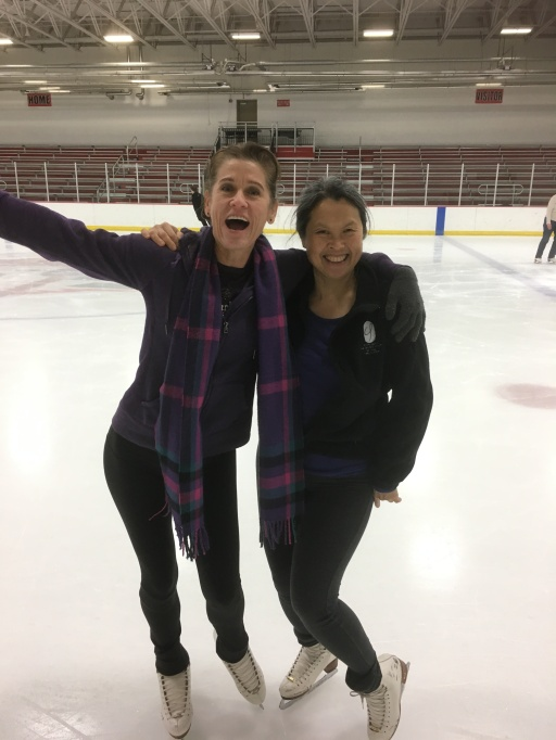 Janey is going to skate more often!