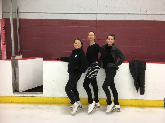 Dance line! Jo, Sonia, Janey