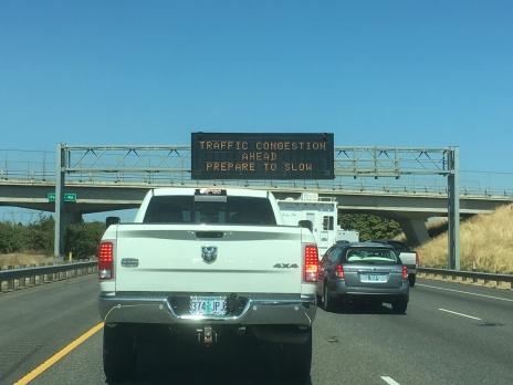 Argggh, traffic!
