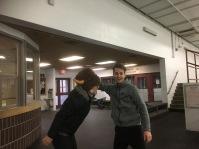 Alex tames the buffalo!