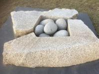 "Isamu Noguchi, ""Soda Shima Stone Study"" (1978)"