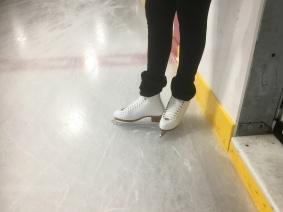 Michele's new skates