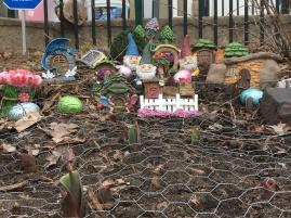 Neighborhood gnomes.